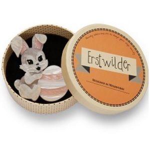 Erstwilder Easter Bunny KIT & EGG BROOCH Pinup NIB